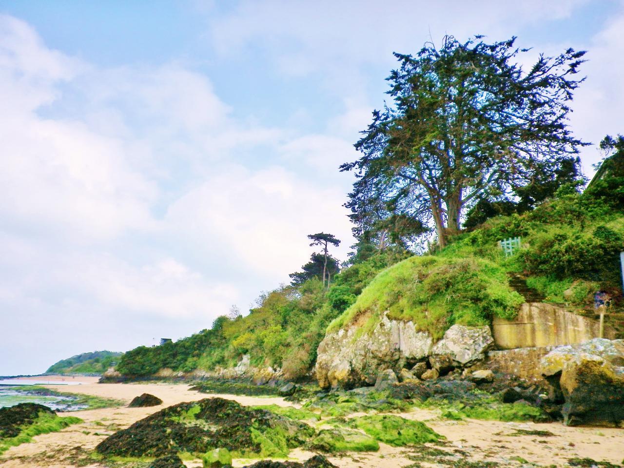 la plage de Paimpol Côte d'Armor