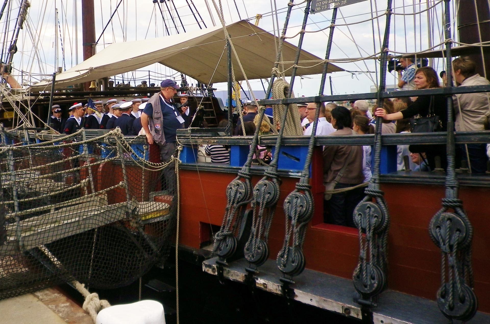 A bord de l etoile du roy port de calais 2014