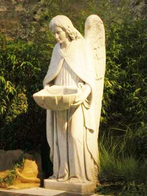 Calais ange benetier de l eglise notre dame de calais