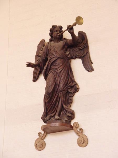 Calais ange musicien statue du buffet dorgue
