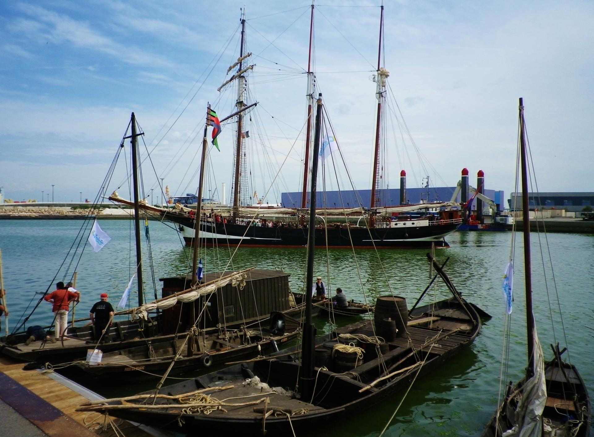 Calais escale 2014 vieux bateaux