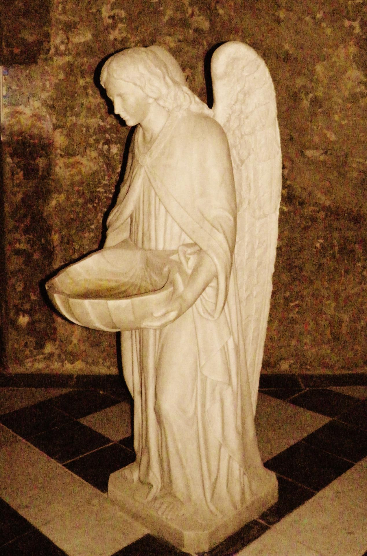 Calais notre dame un ange