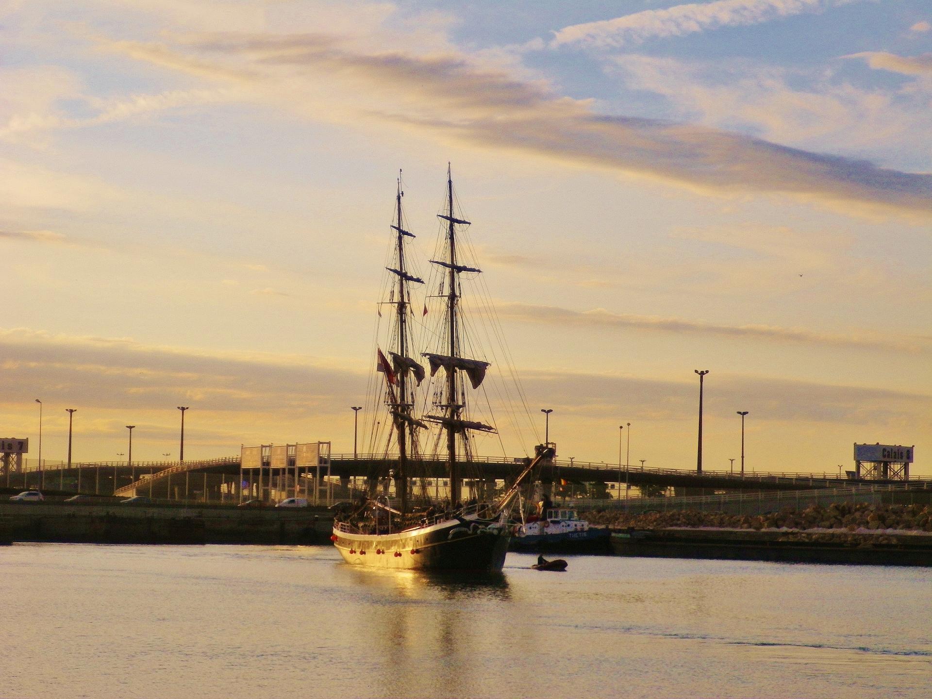 Calais port escale 2014
