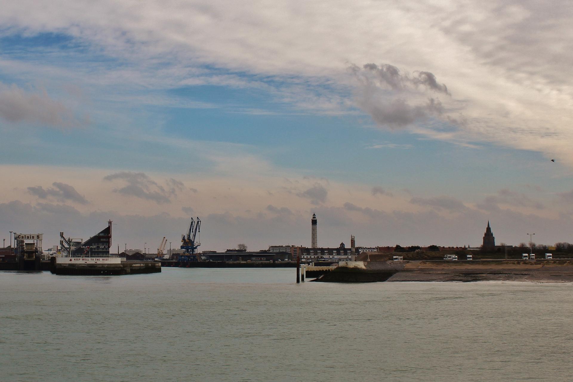 Calais top photo recadre le port