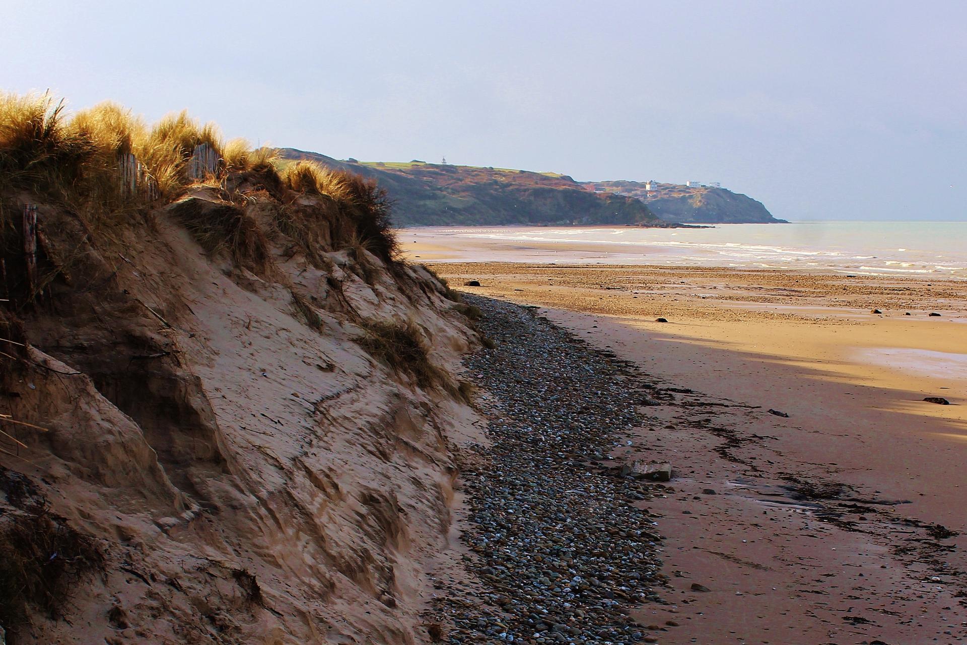 Cap gris nez top photo sur la plage du chatelet coupee