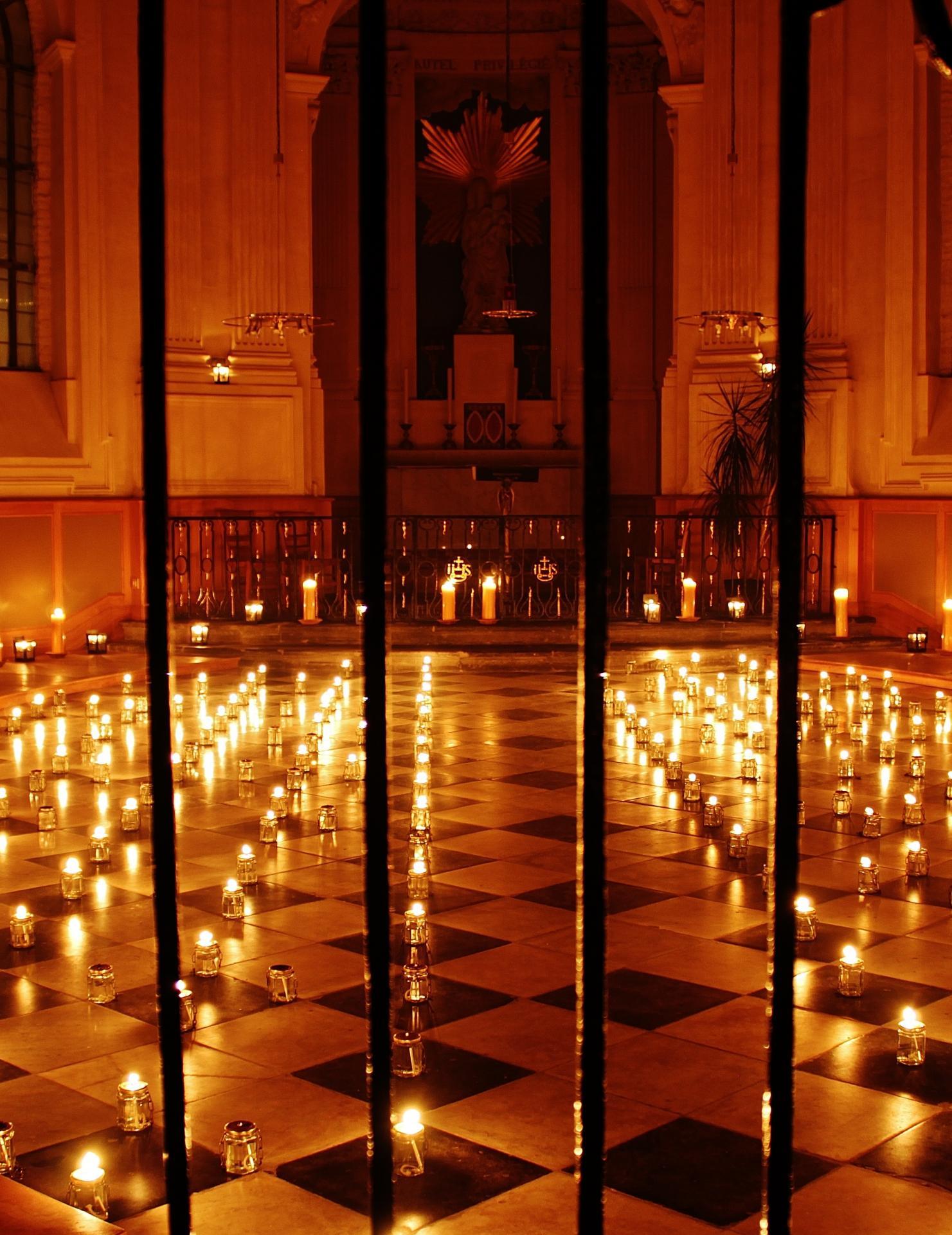 Chapelle de la vierge eglise notre dame de calais
