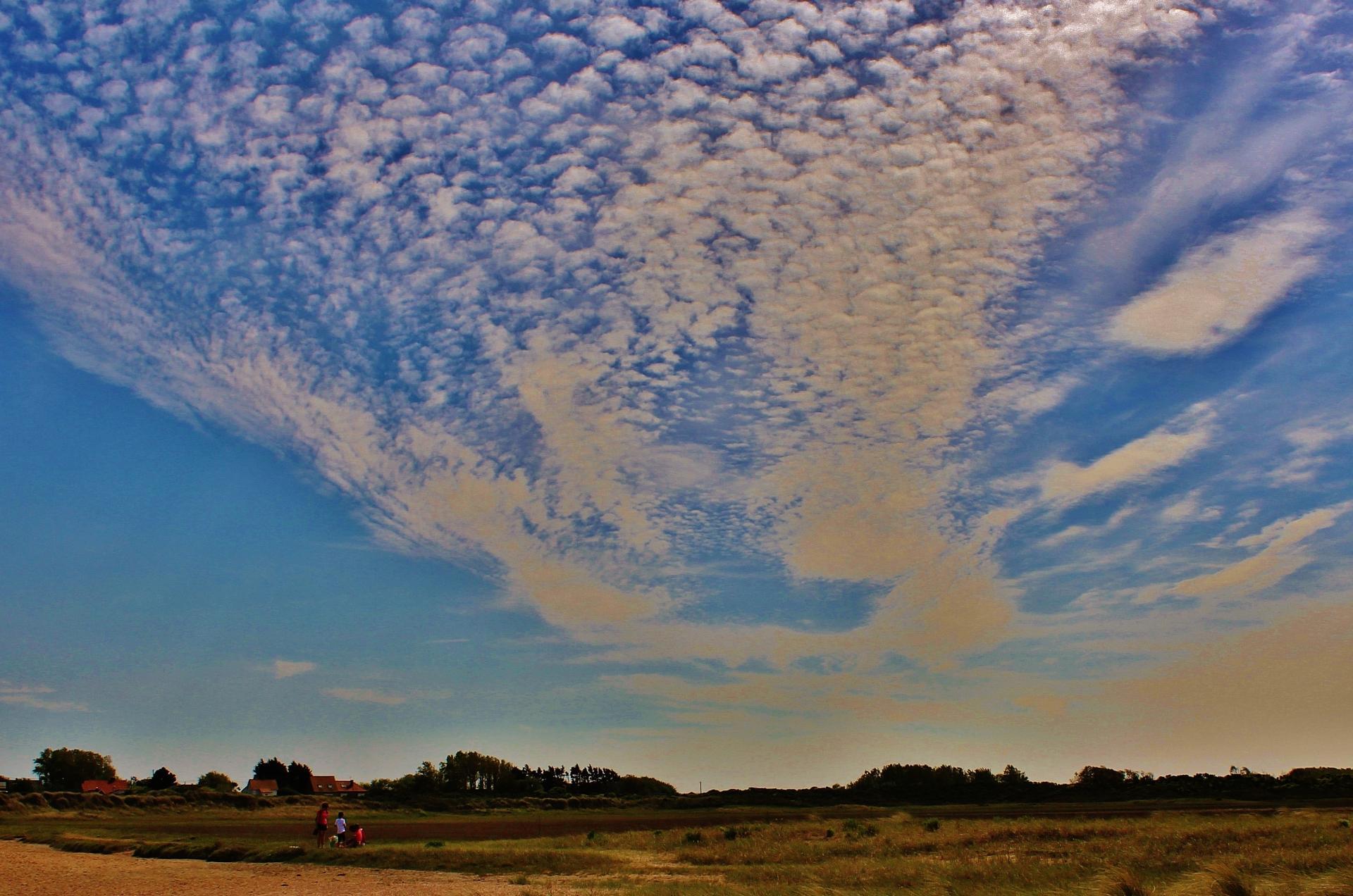Effet de ciel au platier d oye photographie de Marck en Calaisis