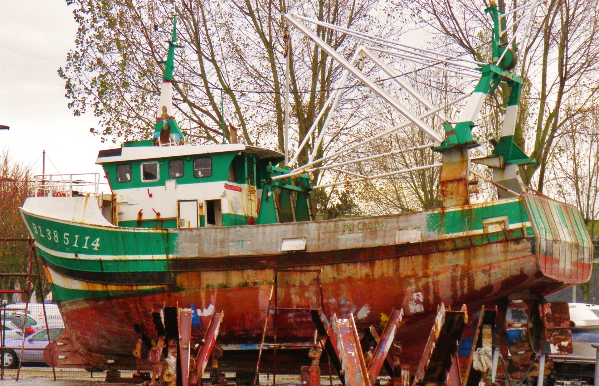 Etaples bateau de pêche