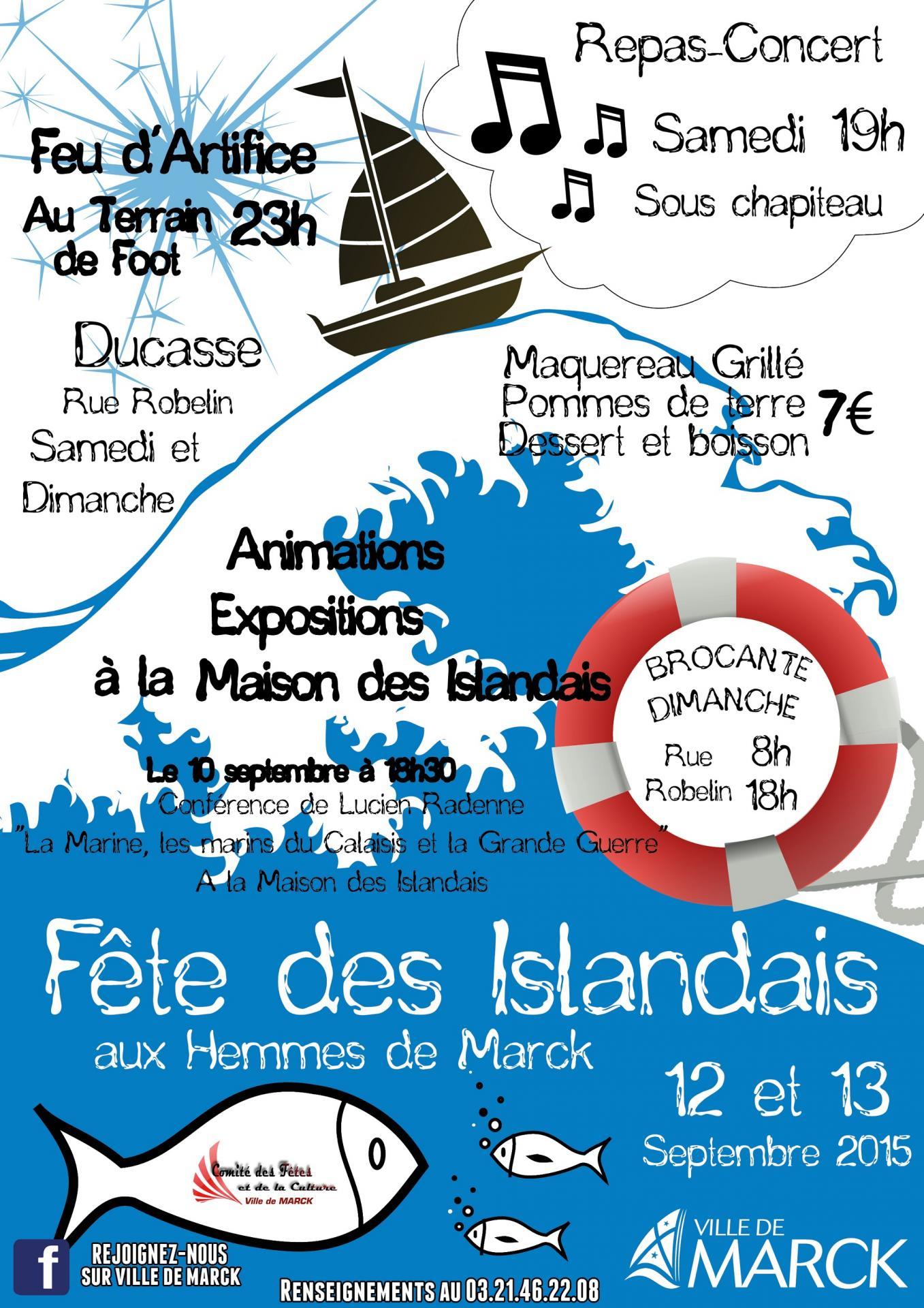 Fete des islandais 2015 aux hemmes de marck 2