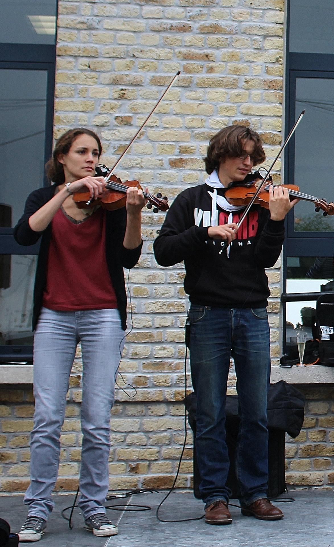 Fete des islandais des hemmes de marck les violonistes