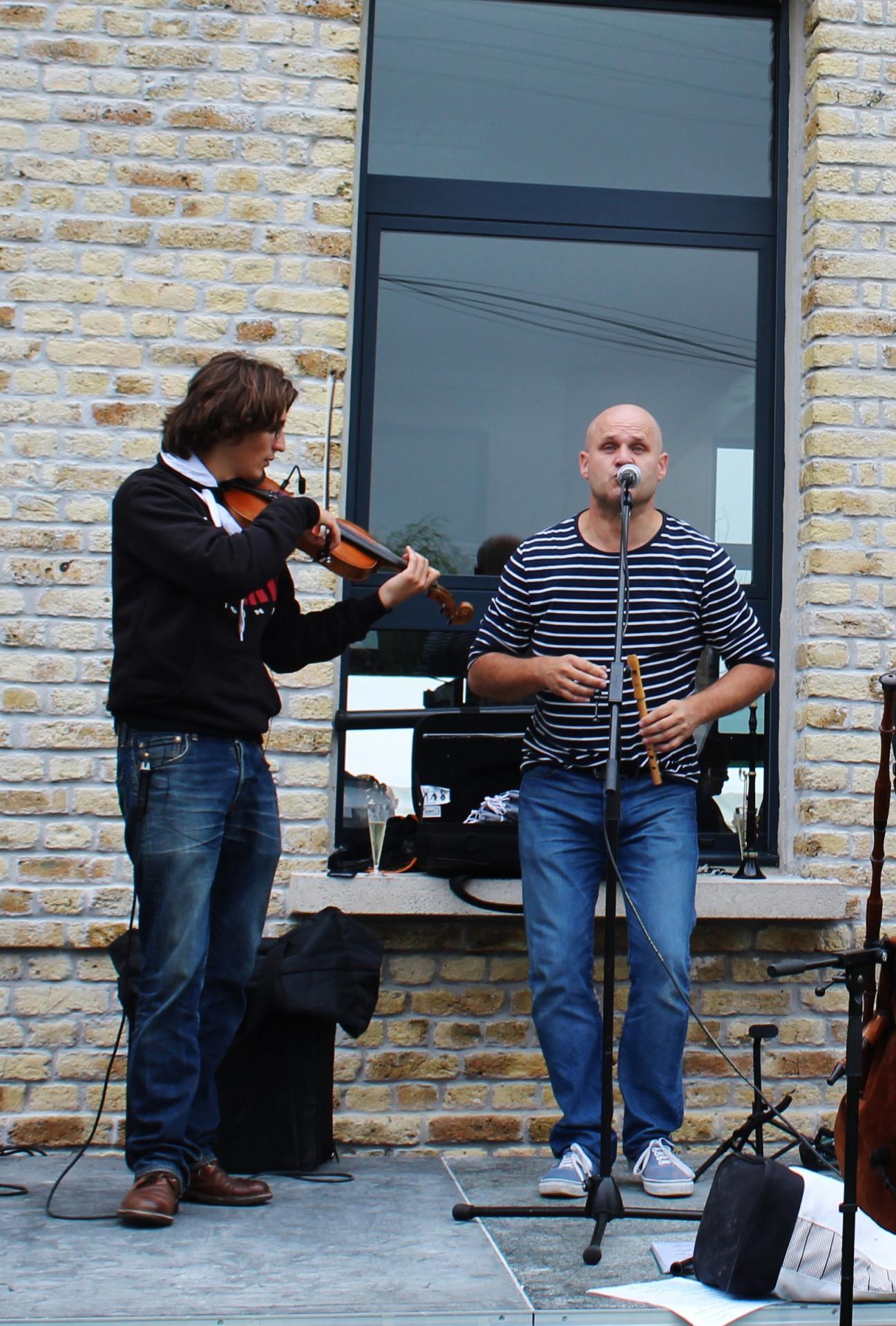 Fete des islandais des hemmes de marck une partie des musiciens