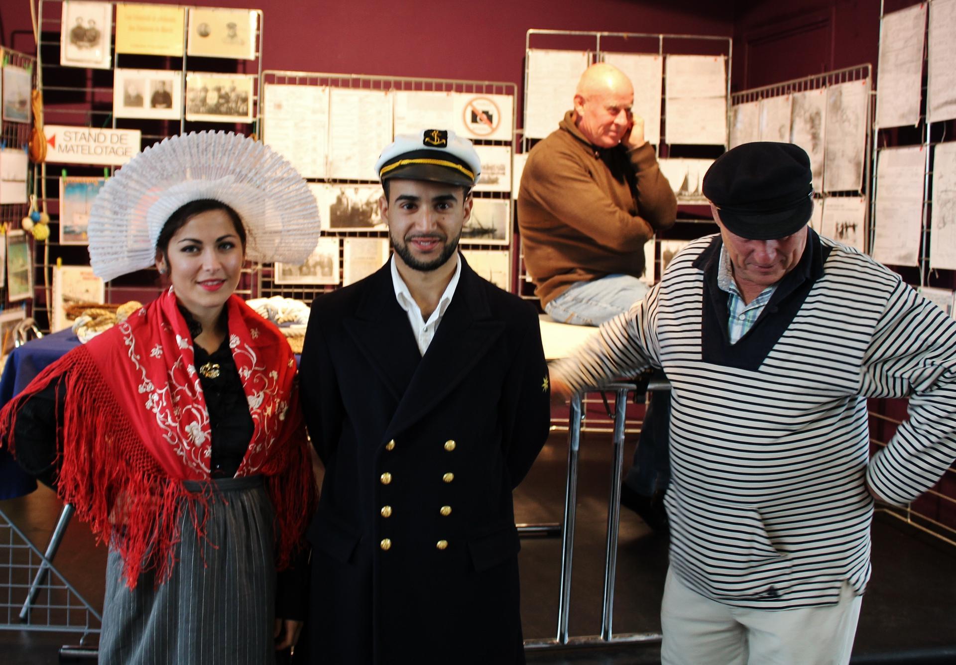 Fete des islandais exposition sur les marins des hemmes de marck