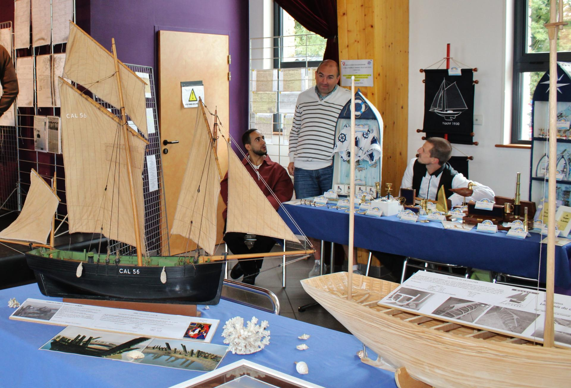 Fete des islandais hemmes de marck en calaisis maquettes de bateaux