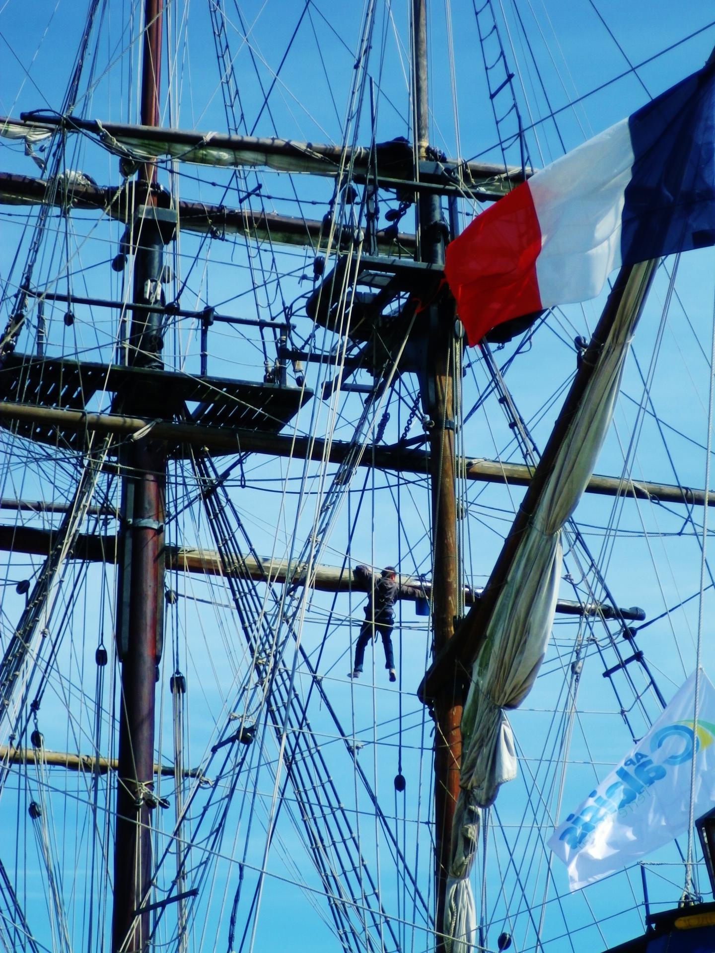 Fete maritime calais travaux dans la mature