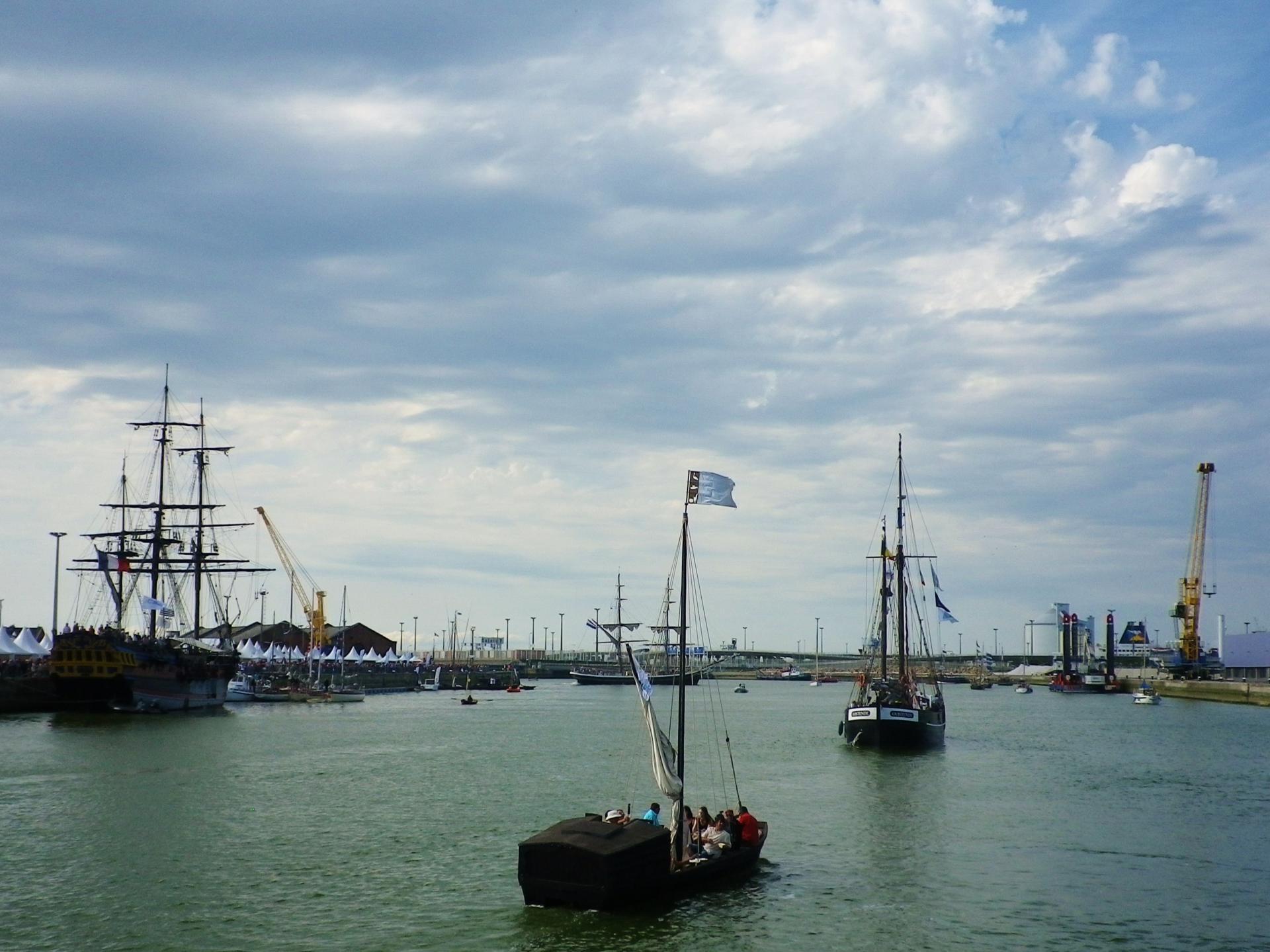 Grande parade des bateaux