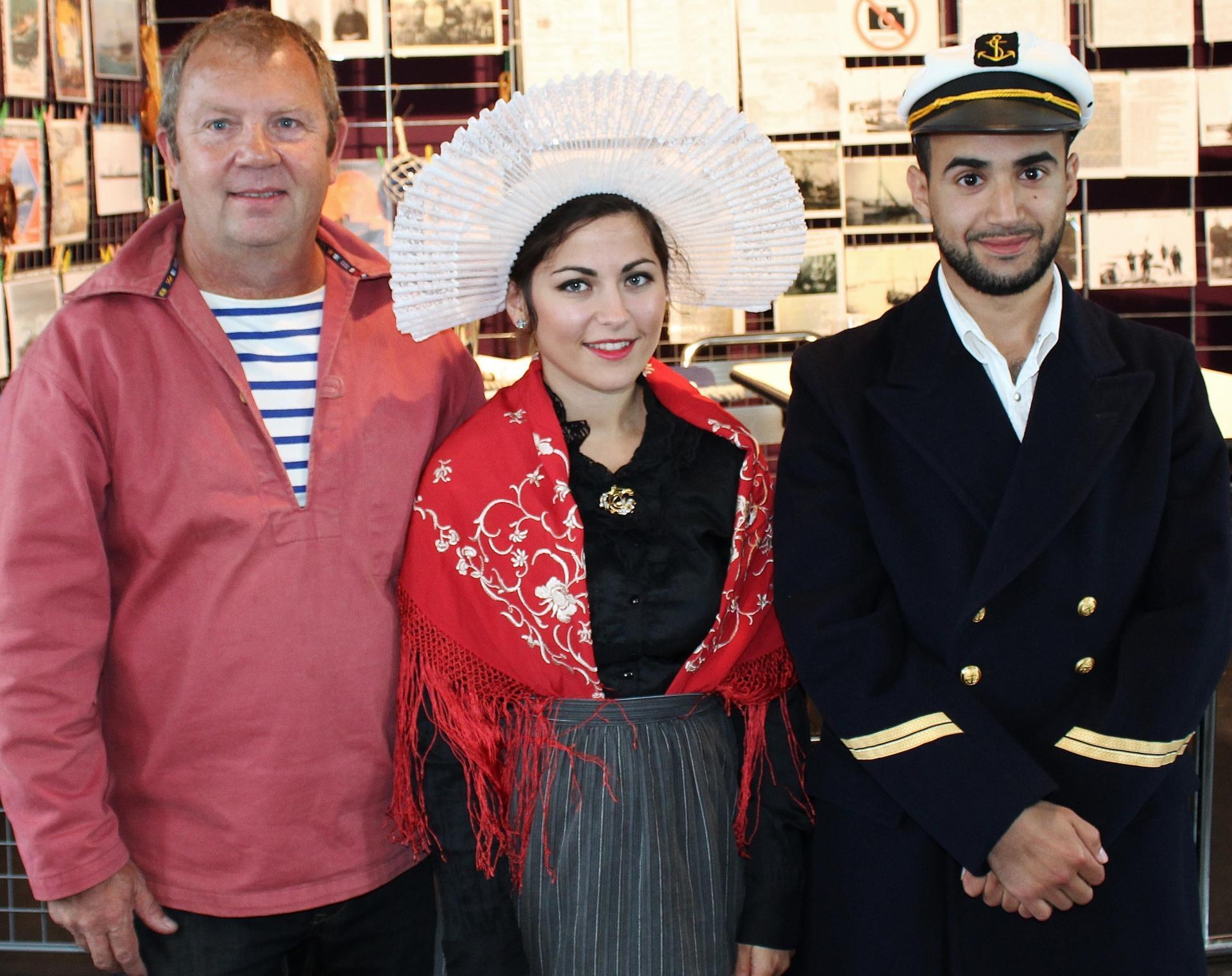 Hemmes de marck fete des islandais capitaine matelot et matelote 1