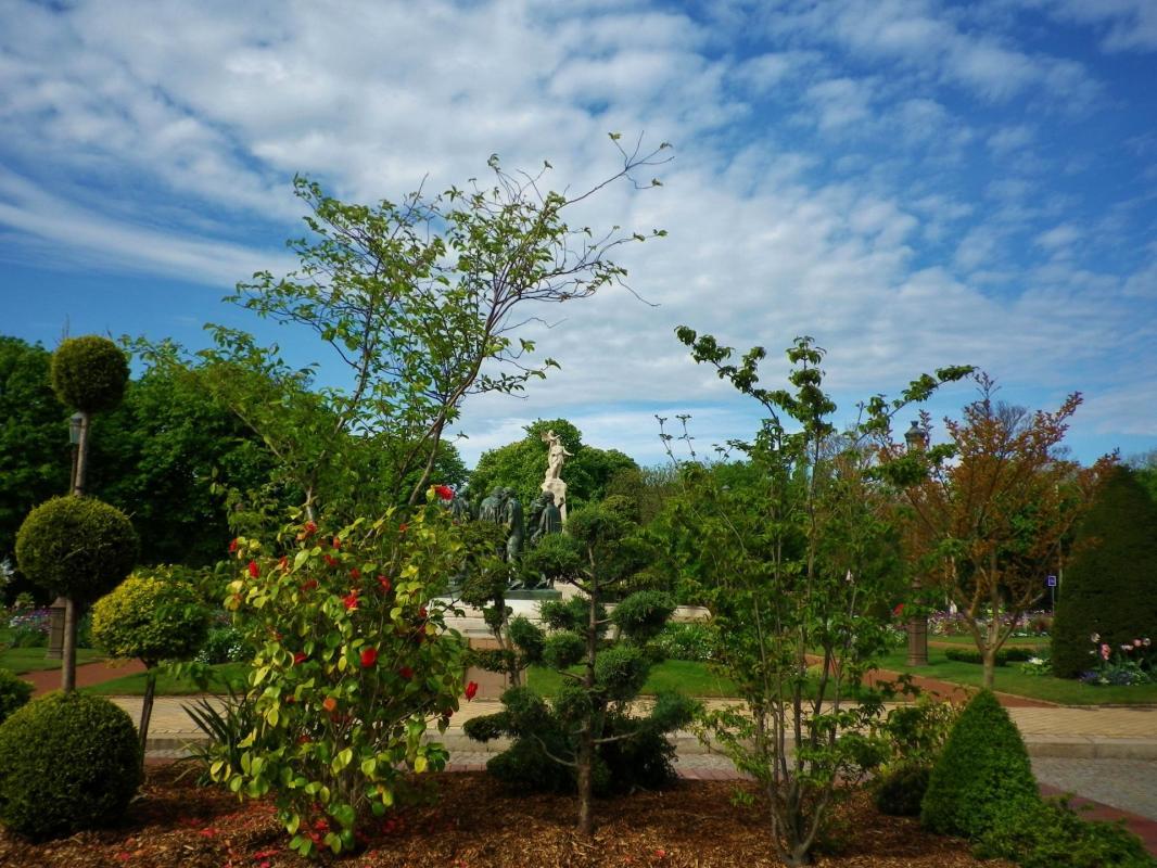 jardins éphémères de l'hotel de ville de calais