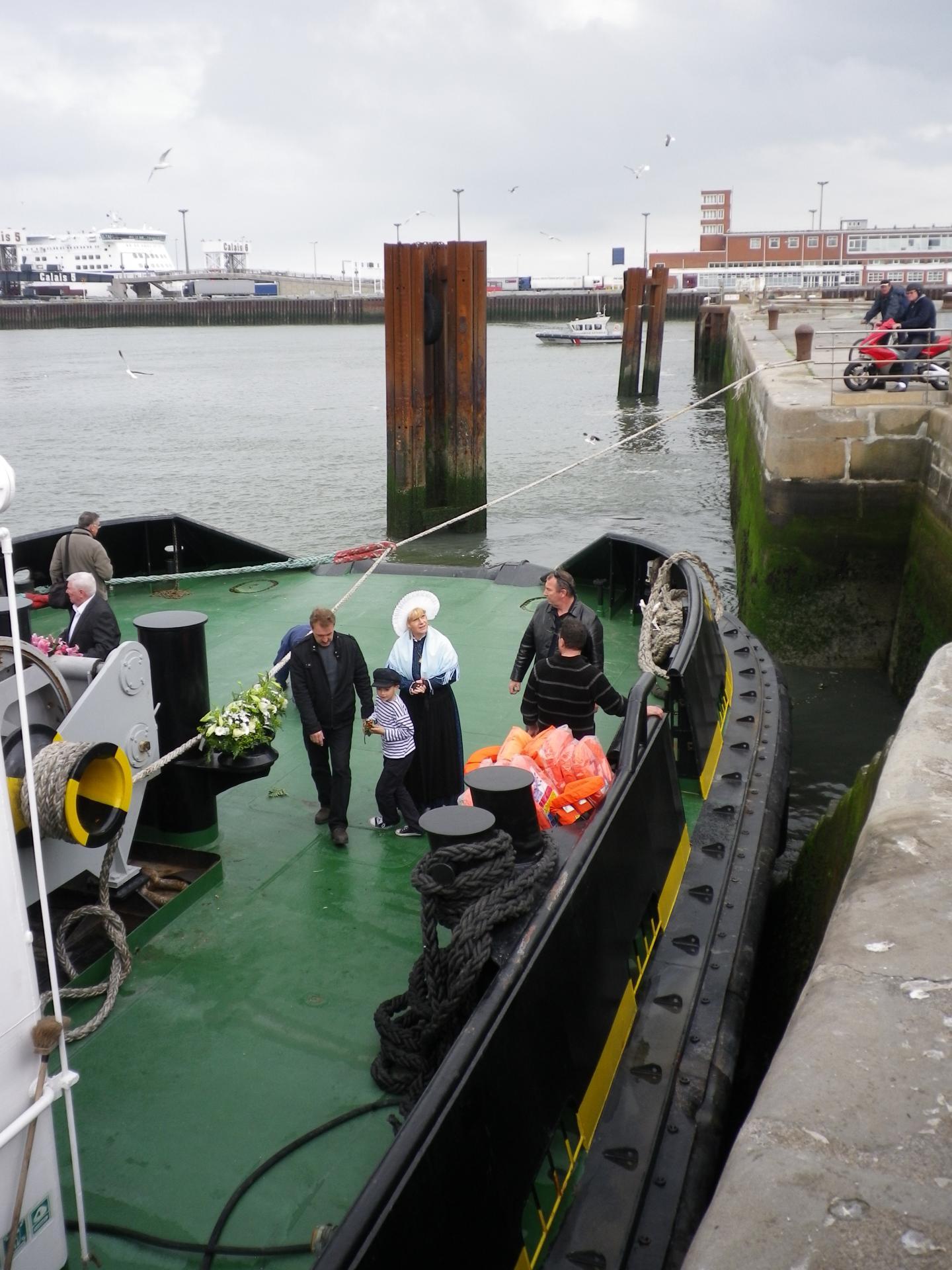 bénédiction de la mer à Calais