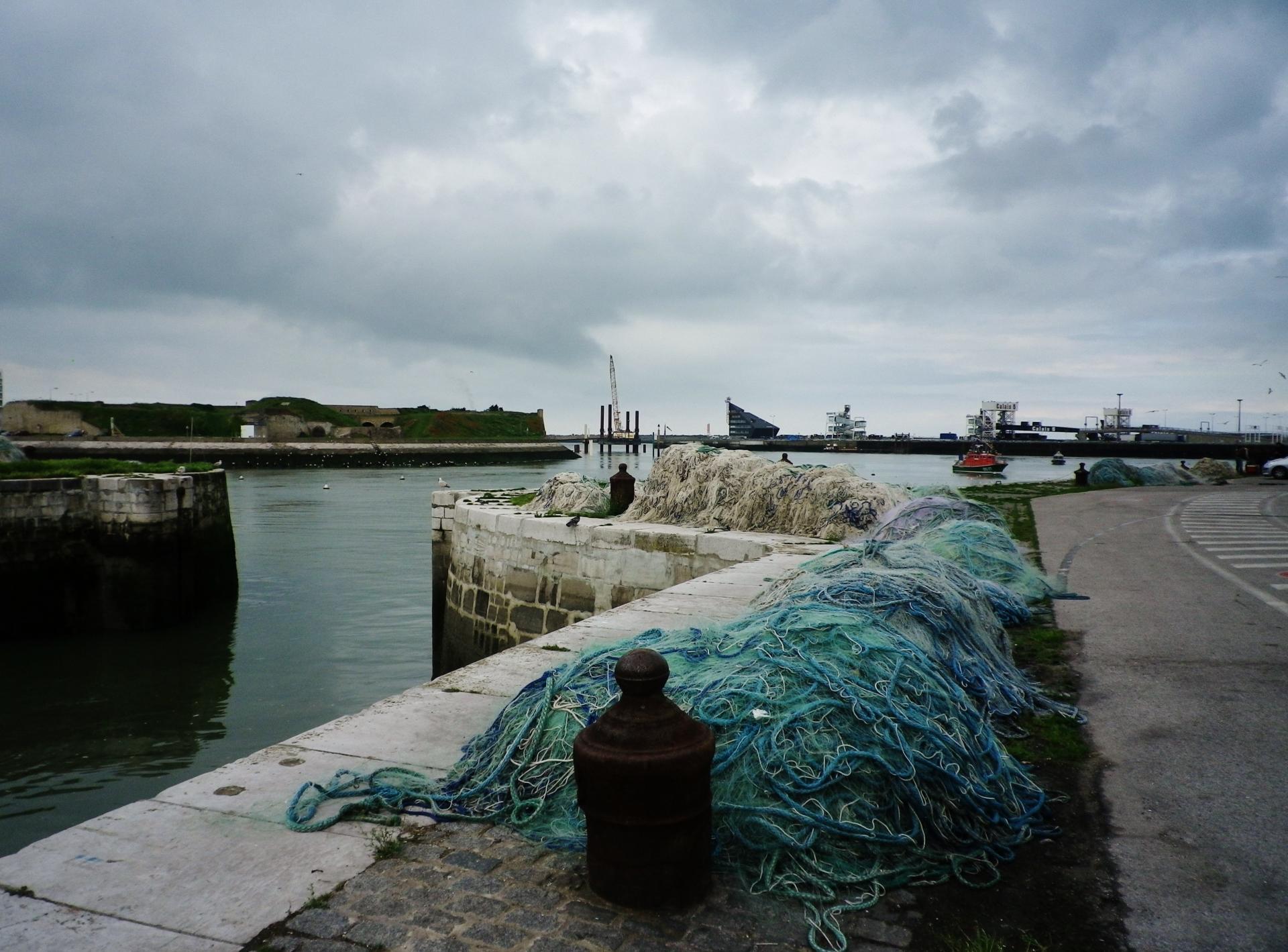 Le port de calais le jour de la benediction de la mer