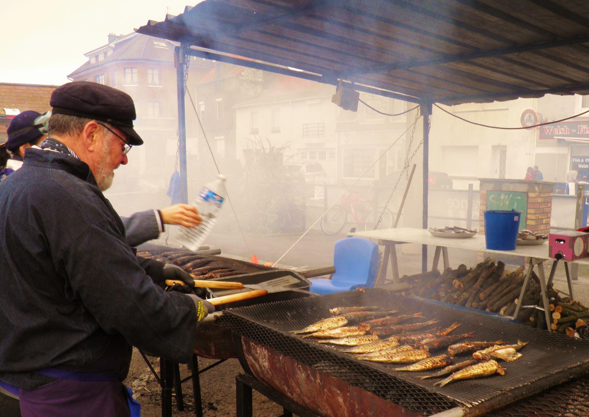 La cuisson des harengs etaples