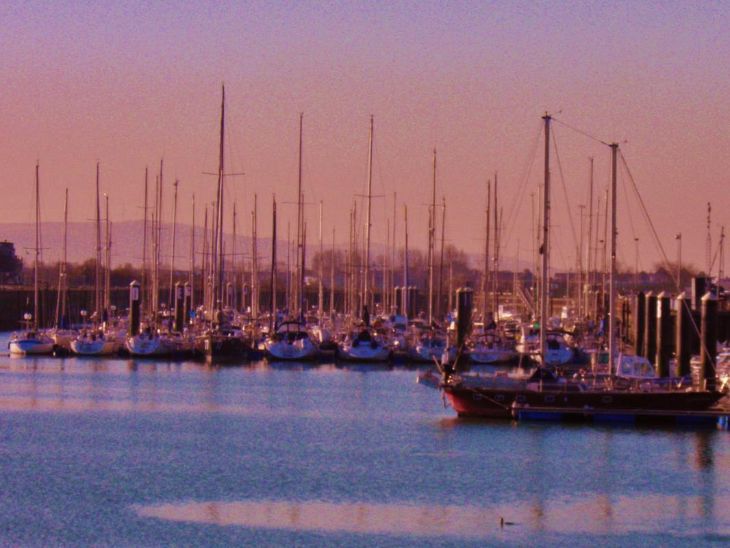 Photo calais le port de plaisance