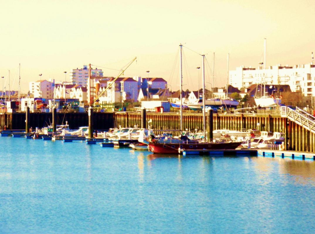 Photo calais port de plaisance