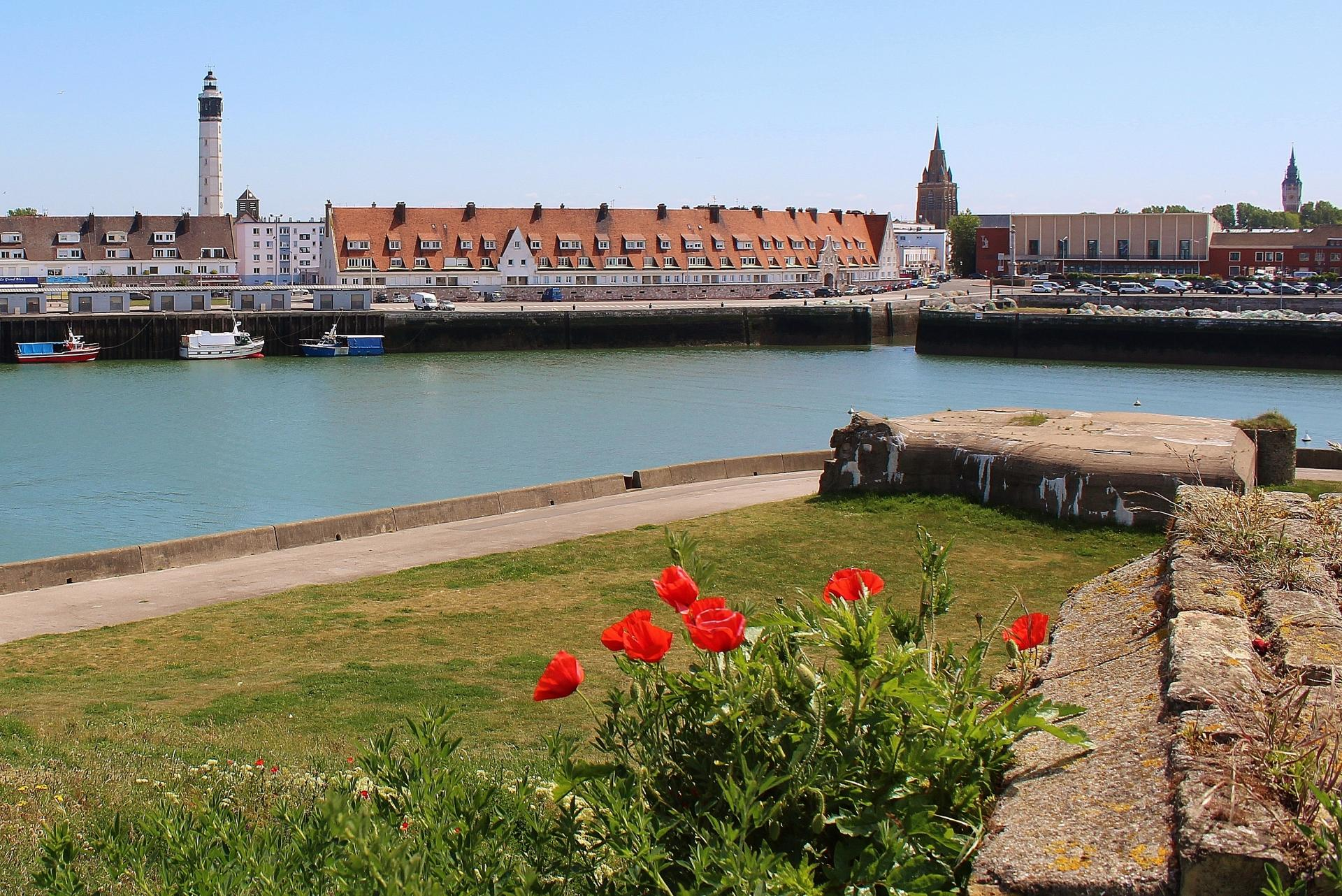 Photographie du port de calais top photo coquelicots