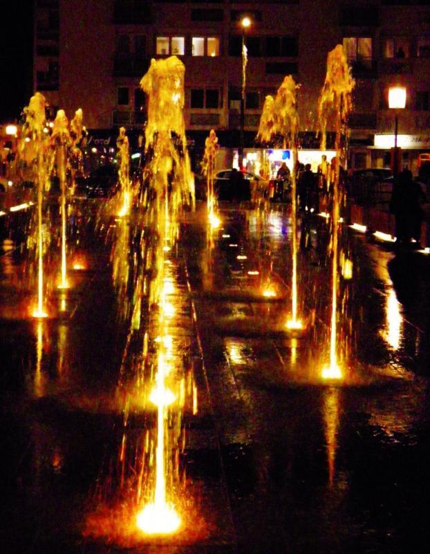 Photographie calais fontaine nouvelle place