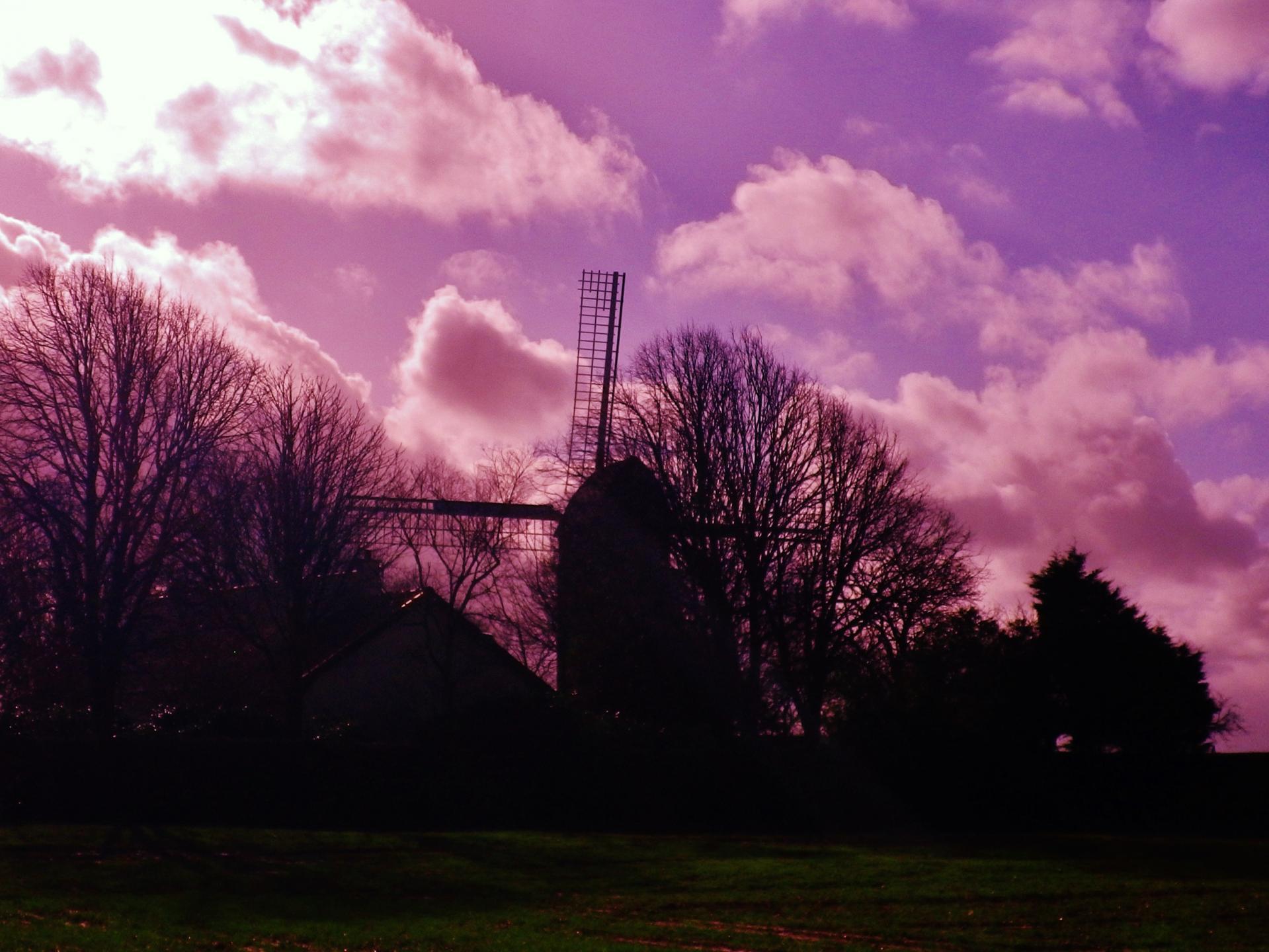 Photographie moulin de Coquelles