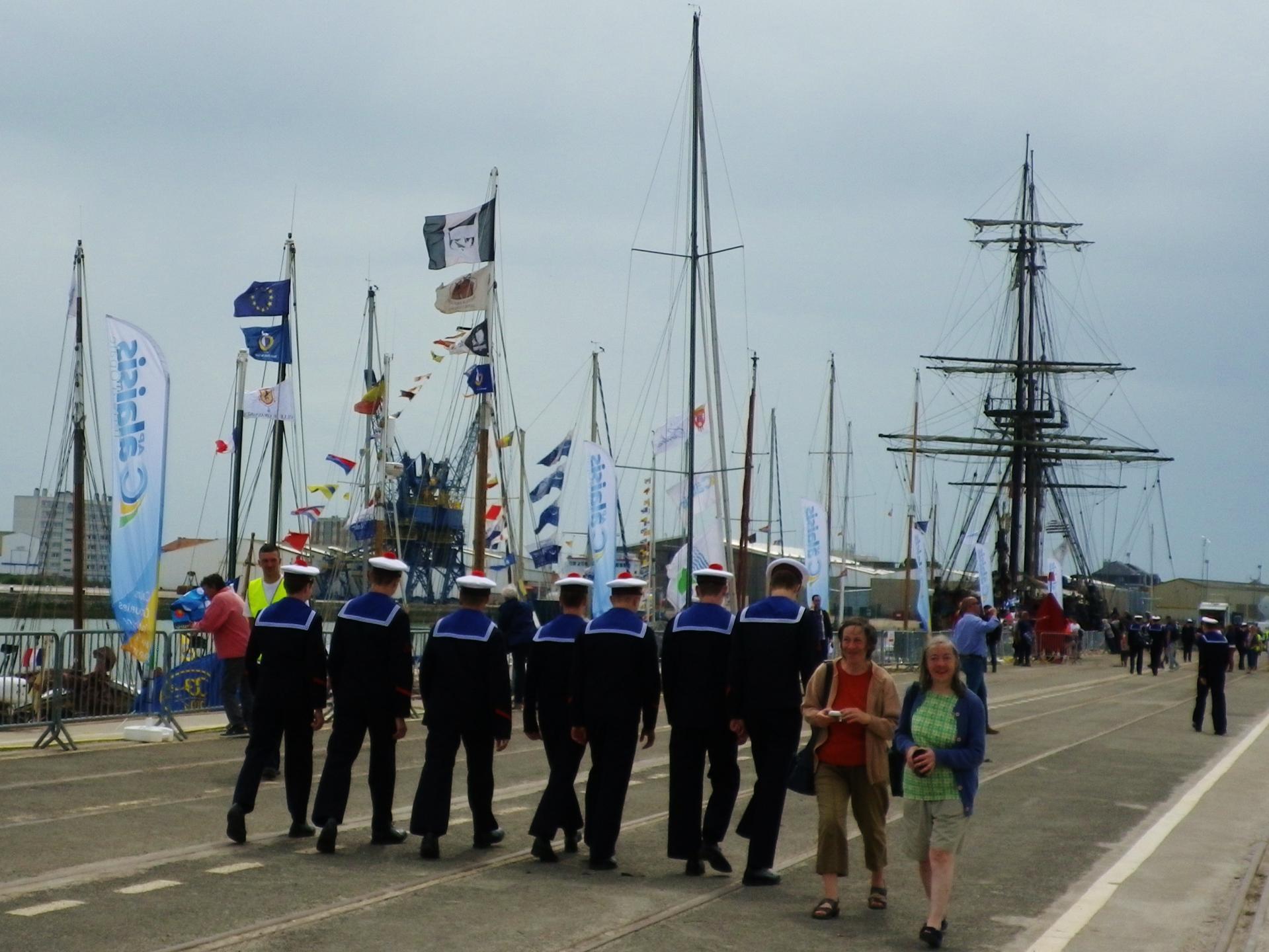 Vive la marine fete maritime calais 2014